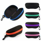 Protable Sunglasses Hard Case Zipper Eye Glasses Storage Box Holder Protector