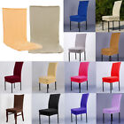 Stretch Spandex Dining Room Chair Cover Seat Restaurant Wedding Party Decor JR