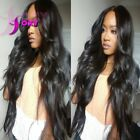 180 Density Wavy Glueless Full Lace Wigs With Baby Hair Lace Front Wavy Wigs