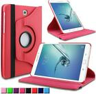 """360 Rotation Pu Leather Slim Case Stand Cover Samsung Galaxy Tab A 9.7"""" SM-T550"""