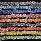 1 Strand Rose Flower Crystal Glass Loose Beads Womens Jewelry Making DIY 14mm