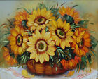 "16X20"" Beautiful Flowers Paint By Number Kit DIY Acrylic Oil Painting on Canvas"