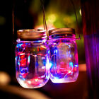 LED Fairy Light Solar Mason Jar Lid Lights Color Changing Garden Decor Fashion