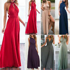 Fashion Women's Long Maxi Evening Bridesmaid Formal Prom Party Ball Gown Dress