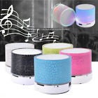 Mini Bluetooth Speakers LED Portable  Wireless Bass Speaker With TF USB FM Radio
