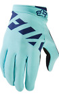 FOX RACING MTB WOMENS RIPLEY ICE BLUE GLOVES SUPERIOR FIT DOWNHILL DH FR S M L