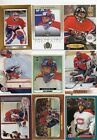 9-jose theodore montreal canadians card lot nice mix +rc 1996/97 fleer 134