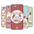 HEAD CASE DESIGNS PUG PRINTS SOFT GEL CASE FOR HTC ONE A9s