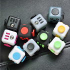 The Anti-Anxiety Cube Helps Focusing Fidget Toy 3D Figit Kids Adults US STOCK