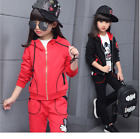 New Tracksuit Kids Baby Long Clothes Sleeve Outfits Girl Fashion Cothes Set