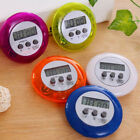 Mini Round LCD Digital Cooking Home Kitchen Countdown UP Timer Alarm Clock Gift