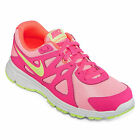 Nike Revolution 2 Girls Athletic Shoes Sneakers Gym Tennis Shoes Pink Pow Lava