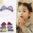 1 Pair Clips Lovely Cat Ears Hairpin Children Hair Ornaments Hair Accessories