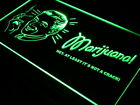 j022-g Marijuana It's Not a Crack Hemp Neon Light Sign