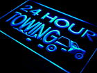 i384-b 24 Hours Towing Car Repairs Auto Neon Light Sign
