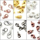 Lobster Claw Clasp Jewelry Findings Bracelet Necklace Gold/Copper/Silver Pewter