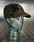Genuine German Army Flectarn Camouflage Peak Baseball Cap / Hat - All Sizes