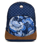 Roxy 'Fairness' Womens Backpack. Perpetual Flower Blue.