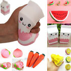 Cute Fruits Squishy Squeeze Scented Slow Rising Relieve Stress Doll Toy Gifts