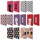 HEAD CASE DESIGNS CATS AND DOTS LEATHER BOOK WALLET CASE COVER FOR APPLE iPAD