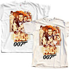 James Bond 007 V1 T SHIRT WHITE NATURAL all sizes S to 5XL $22.91 CAD