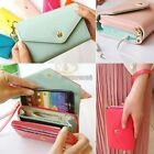 Hot multifunction Women wallet Wallets Coin Case Purse For iphone/Galaxy EP98