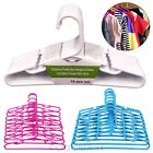 Quality Plastic Bar Hangers Clothes Coat Shirt Dress Baby Trouser Skirt 49cm