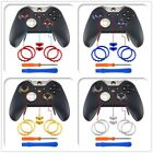 Matte Chrome Buttons Circle Rings Replacement Part for Xbox One Elite Controller