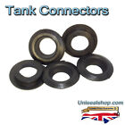 Tank Connectors All Sizes Multipacks, Hydroponic Aquaponic Koi fish pond