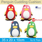 Kids Cuddling Penguin Toys Cushion Cotton Hand Embroidered Bedroom Pillow Girls