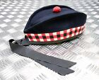Genuine British Army Triple Diced Regiment of Scotland Glengarry Hat - All Sizes