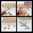 100pcs Wholesale Small Clear Cork Vials Glass Bottle Tiny Wishing Bottle C109