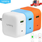 Lumsing Quick Charge 2.0 QC2.0 5V 6.6A Multi-Port USB Wall Charger Hub Adapter