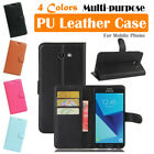 Samsung Galaxy J5 (2017) Leather Case PSC Cover Skin Card Wallet Stand Folio