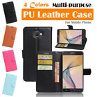 Samsung Galaxy J7 Prime / On7 Leather Case PSC Cover Skin Wallet Stand Folio