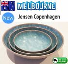 Jensen Copenhagen Bowls Salad Fruit Breakfast Soup Pottery Denmark Designer Camp