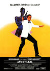 A VIEW TO KILL (007 ROGER MOORE JAMES BOND) 01 FILM POSTER PHOTO PRINTS