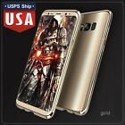 Slim Aluminum Metal Armor Bumper + PC Back Cover Case For Samsung Galaxy S8 Plus