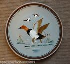 """Vintage STANGL Pottery Plate Charger - """"CANVAS BACK"""" Trenton NJ bird duck"""