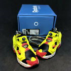 INSTA PUMP FURY OG ANNIVERSARY RED YELLOW SNEAKERS SHOES 3D KEY CHAIN FIGURE 1:6
