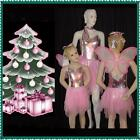 Wish Upon A Christmas Star Dance Costume Sugar Plum Fairy w/Wings Clearance