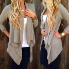 Women's Boho Tribal Waterfall Cardigan Autumn Wrap Coat Cape Jacket Outwear Tops