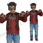 CHILDRENS KIDS BOYS SCARY WEREWOLF WOLF FANCY DRESS COSTUME HALLOWEEN HORROR
