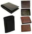 Exclusive Men's Assorted Trifold/Bifold Leather Wallets