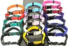 20mm,25mm Cushion Dog Collar Adjustable,Various Colours,Small,Medium,Large