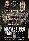 FLOYD MAYWEATHER v CONOR McGREGOR BOXING 35 POSTER PHOTO PRINT