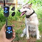 Dog Training Shock Collar With Remote Control 100 Level Shock Vibration Beep NEW