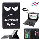 Universal Bluetooth Keyboard Leather Case Stand For 7