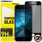 For iPhone 8 7 6s 6 Plus SE FULL COVER Tempered Glass Privacy Screen Protector
