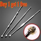 Stainless Steel Earpick Wax Stick Remover Curette Cleaner Ear Pick Tool New